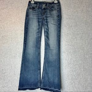 AE Hipster American Eagle Flare Jeans